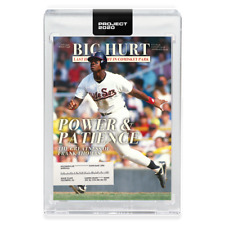 Topps PROJECT 2020 Card 259 - 1990 Frank Thomas by Oldmanalan preorder WHITE SOX
