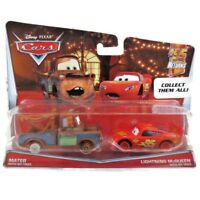 Disney Pixar CARS Mater and Lightning McQueen No Tires Vehicles 2 Pack Diecast