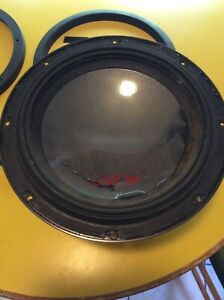 Alpine SWR-1243D Type-R 12in Subwoofer with Dual 4-Ohm Voice Coils Used