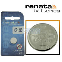 CR1216 Renata Watch Battery 3V Lithium Battery Official Distributor