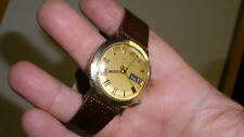 bulova accutron mens tuning fork watch 14k g.f. case use or convert to spaceview