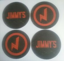 Jimmy's Manchester Bar Venue X4 RARE Beer Mat Coasters