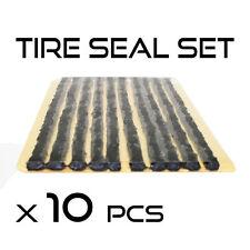 Reparación de neumáticos tubeless Sello Tira 10 un. Car Kit de recuperación de Motocicleta Bicicleta Scooter