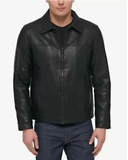 Tommy Hilfiger Mens Classic Faux Leather Jacket Size 2XL...