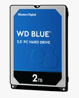 """WD Blue WD20SPZX 2 TB Hard Drive - 2.5"""" Internal - SATA (SATA/600)"""