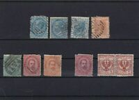 ITALY 1865 MOUNTED MINT AND USED STAMPS    REF 5207