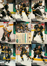 1993-94 Parkhurst by UD Vancouver Canucks Regular Team Set (18)