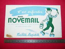 BUVARD PEINTURE NOVEMAIL   1950-1960