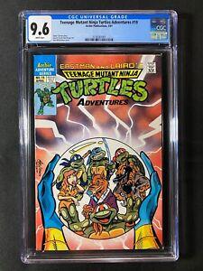 Teenage Mutant Ninja Turtles Adventures #19 CGC 9.6 (1991)