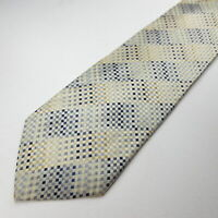Regis 100% Silk Mens Necktie Multi Color Plaid Tie 113-3