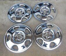 """17"""" Set of Four (4) Chrome Skins 2007-2015 Honda Accord CR-V 5 spoke Steel Wheel"""