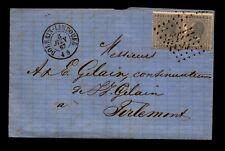 Belgium 1867 Cover / Folded Letter - L11162