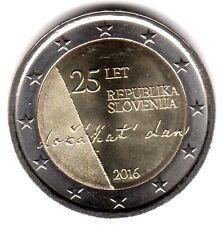 2 Euro-Sondermünze SLOVENIEN 2016 25 Jahre Republik