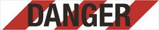 Prosafe PEDESTRIAN CONTROL DANGER BARRIER TAPE 75mmx300m Standard RED/WHITE