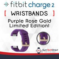 Fitbit Charge 2 Purple Rose Gold Replacement Wristband Accessory!