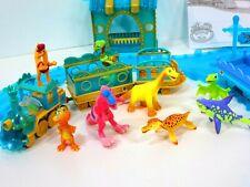 Dinosaur Train Motorized Adventure Under the Sea Train Set & Figurines Lot PBS