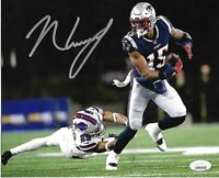 N'Keal Harry New England Patriots Autographed Signed 8x10 Photo coa-JSA