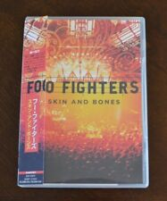 Skin And Bones by Foo Fighters (DVD Japan edition NTSC REG ALL - 21 tracks) NEW