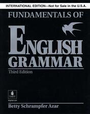 Fundamentals of English Grammar Without Answer Key, Black, International...