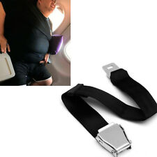 Adjustable Airplane Safety Seat Belt Extension Extender Airline Buckle Aircraft