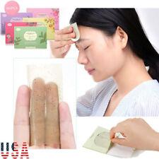 100 Sheet Facial Oil Control Absorbing Tissue Face Skin Blotting Green Tea Paper