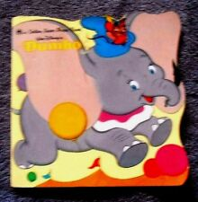 Golden Super Shape Book: Walt Disney's Dumbo (1991, Paperback)