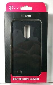 T-mobile Brand Protective Cover Case for LG Aristo in Black