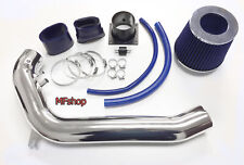 Blue For 1991-1994 Nissan 240SX S13 Silvia 2.4L L4 Air Intake System Kit