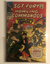 Sgt. Fury And His Howling Commandos 42 Vf+ 8.5 Or Better High Grade!