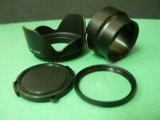 Adapter Tube+Lens Cap+Hood+UV Filter For 52mm Nikon Coolpix P7100 P7000 Camera