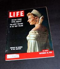 LIFE MAGAZINE NOVEMBER 26 TH 1956 INGRID BERGMAN