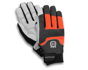 Husqvarna Technical Protective Chainsaw Gloves with saw protection Large Size 10