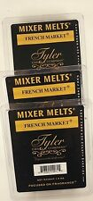 French Market- TYLER CANDLE - MIXER MELTS, SET OF 3 PKGS., SOY BASED SCENTED WAX