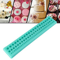 23*4.2*1.3cm String Paste Bead Clay Mould Fondant Cake Silicone Pastry DIY