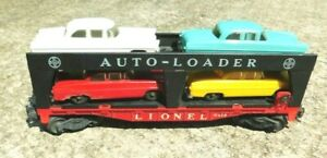 Lionel 6414 Auto Loader with 4 Cars