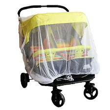 Infant Twins Safe Mosquito Insect Net Mesh Baby Bed Stroller Cradle Net Cano,de