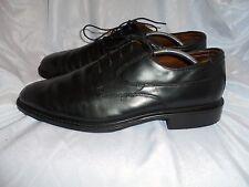 ROCKET Homme en Cuir Noir À Lacets Chaussures Taille UK 10 EU 44 US 11 M très bon état