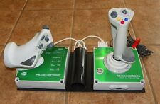 Ace Combat 6 Flight Stick Controllers Xbox 360 Throttle Namco Hori + Custom Base