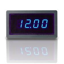 """3 1/2 Mini 0.5"""" 3½ DC 20V Blue LED Digital Volt Panel Meter 12V Voltmeter"""