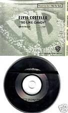 ELVIS COSTELLO So Like Candy 1991 PROMO DJ CD Single