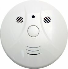 Smoke Detector Covert Hidden Spy Nanny Color Camera DVR 32 GB Internal Memory