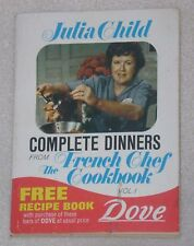 1972 Julia Child Dinner French Chef Party Lamb Stew Pot Recipe Cook Book Booklet