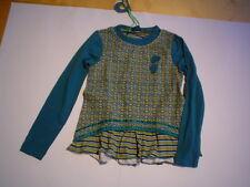 Winter 2013 - WI 13/14 paglie camisa túnica, Azul-Verde Talla gr.104-140