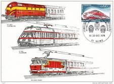 Jumelage philatélique ferroviaire Reims - Stuttgart - Luxembourg