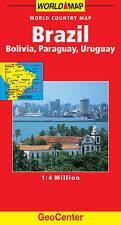 Brazil World Map (GeoCenter Maps) (GeoCenter Maps), Mairs, 3829764464, New Book
