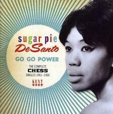 Sugar Pie DeSanto - Go Go Power: The Complete Chess Singles 1961-1966 [New CD] U