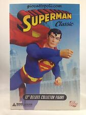 SUPERMAN CLASSIC DC DIRECT 13'' DELUXE COLLECTOR FIGURE 1/6 NEW ]@A ROMA@[