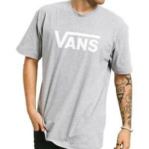 Camisetas Hombre  VANS MN VANS CLASSIC COLOR GRIS HEATWHT
