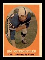 1958 Topps Set Break # 14 Jim Mutscheller EX-MINT *OBGcards*