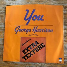 George Harrison You 1884 Apple Records W/PS! Near Mint! Beatles